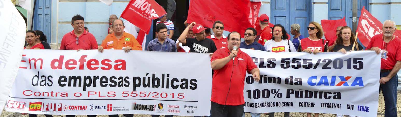 Press�o e mobiliza��o dos trabalhadores conseguem adiar vota��o do PLS 555