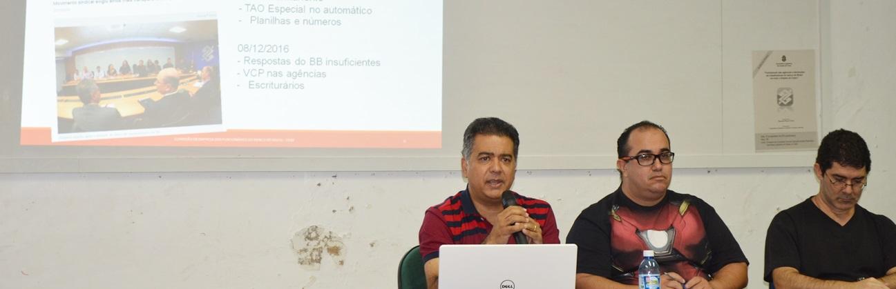 Roda de conversa reúne bancários do BB em debate sobre reestruturação