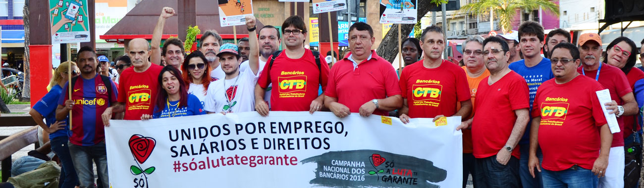Sindicato refor�a movimento de resist�ncia contra a intransig�ncia dos bancos