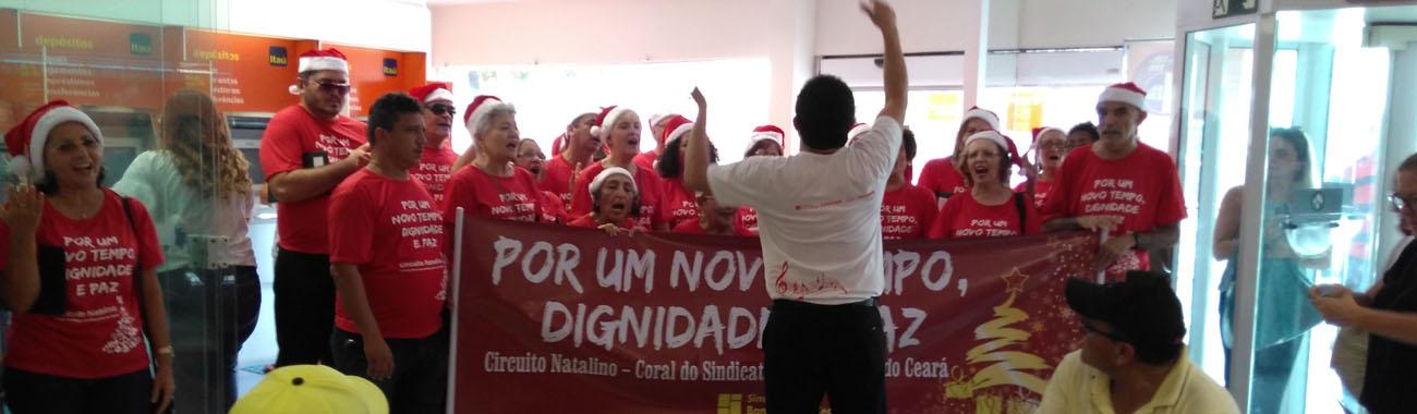 Começa Circuito Natalino 2016 do Coral do Sindicato/Afabec