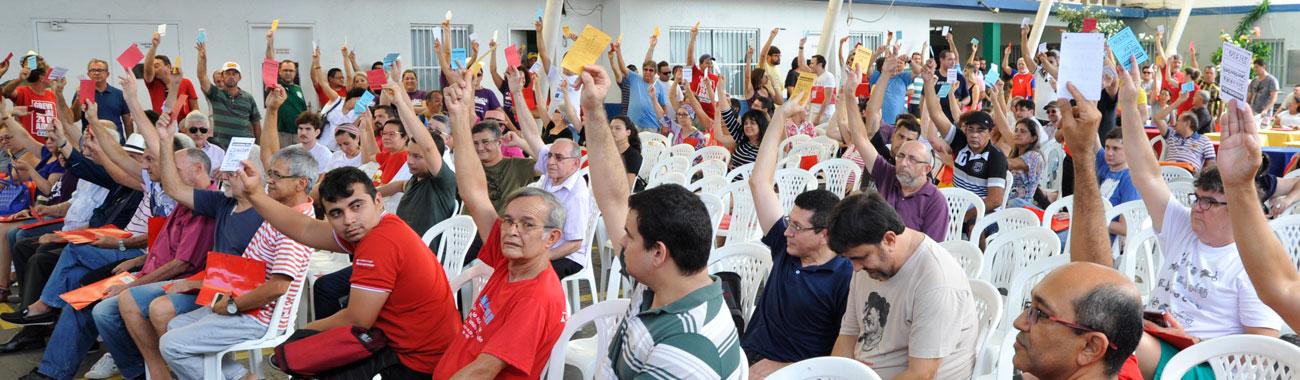 Bancários do Ceará aprovam eixos para a campanha salarial 2017