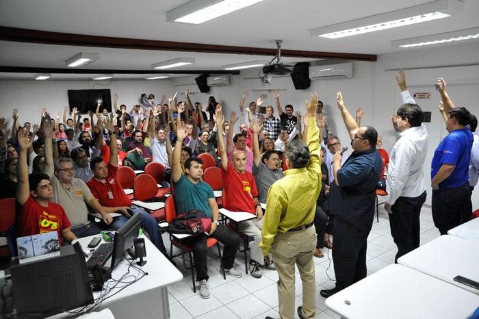 Bancários do Ceará vão aderir à GREVE GERAL dia 28. Venha pra rua você também!