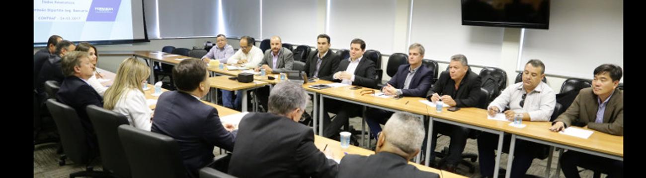Bancários apresentam três reinvindicações na primeira reunião da comissão bipartite de Segurança