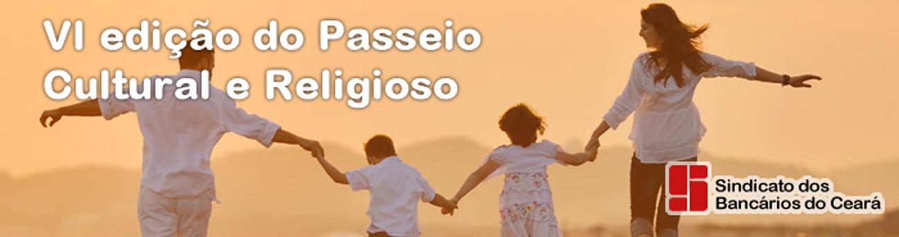 Semana Santa: VI Passeio Cultural e Religioso será para Canindé e Paracuru, dias 14 e 15/4
