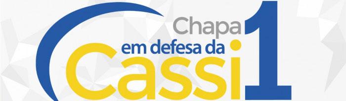 De 16 a 28/3: Vote Chapa 1 e defenda a Cassi!