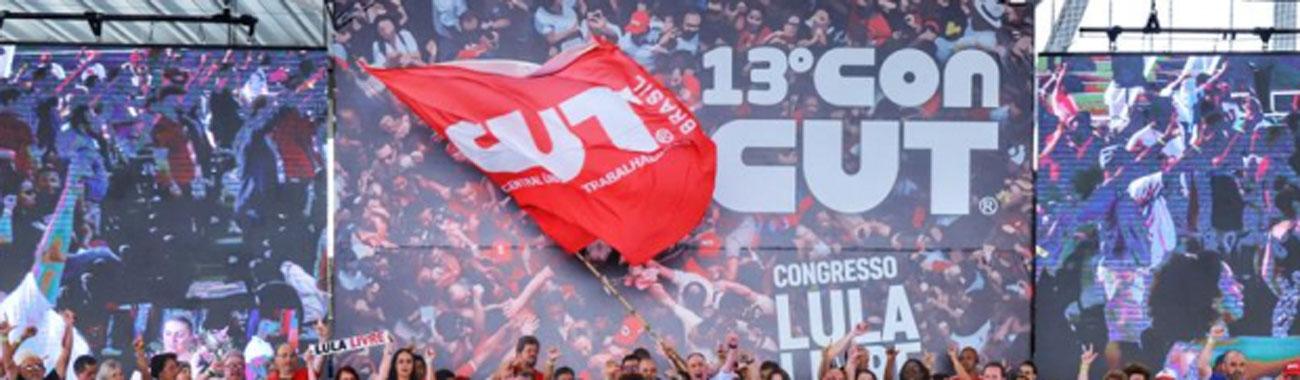 Luta pela democracia, pelos direitos e pela liberdade de Lula marcaram o 13º Concut