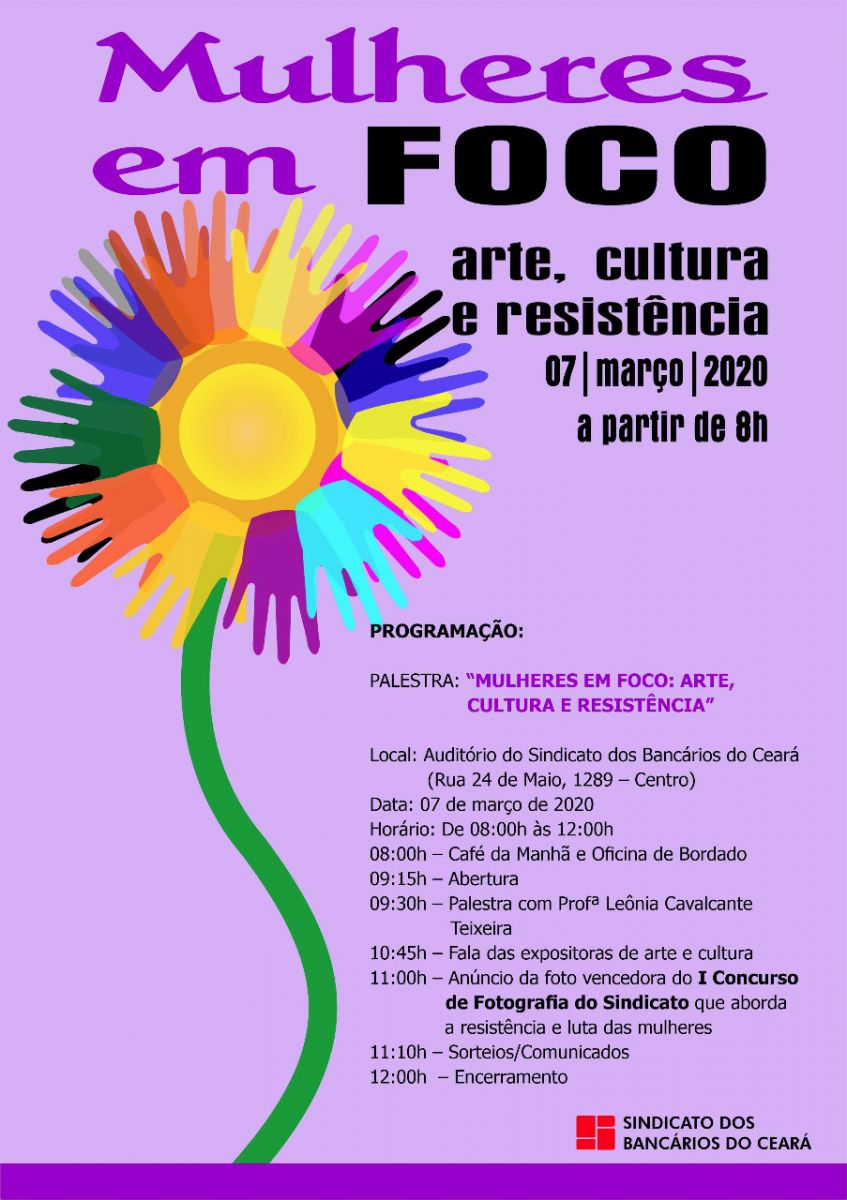 Evento do Dia Internacional da Mulher aborda resistência e luta feminina