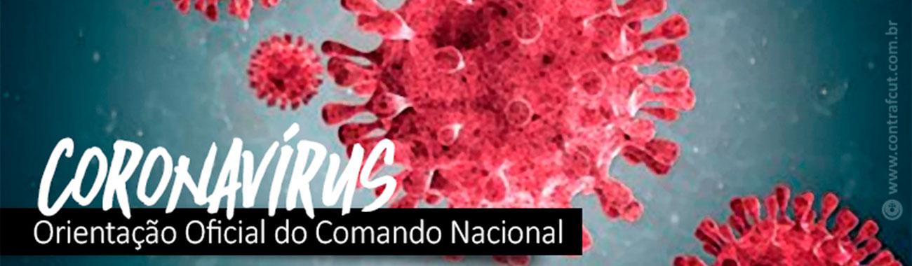 Coronavírus: envie suas demandas e denúncias para o Sindicato